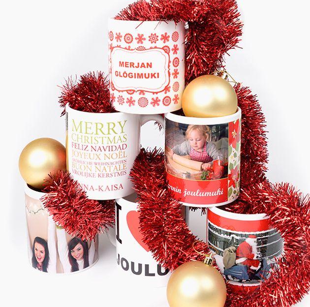 Glögimukit pikkujouluihin omalla valokuvalla! Valmistaudu jouluun ifolorin vinkeillä - http://www.ifolor.fi/inspire_joulun_muistilista