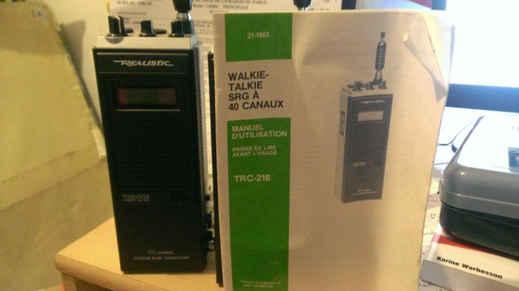 I'm selling Walkie - Talkie SRG à 40 Canaux - TCR-216 - 40,00 CA$ #onselz