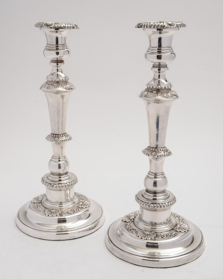 Pair of large Victorian Candlesticks (ID 47167) by KingsdownAntiques on Etsy