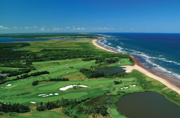 Prince Edward Island=beautiful beaches, world class culinary experiences, live music & some of the best golf courses in N.America.