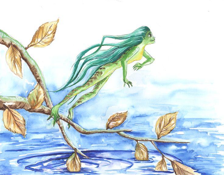 jumping frog (jumping girl frog)