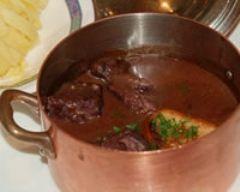 recette de mini cocotte boeuf bourguignon