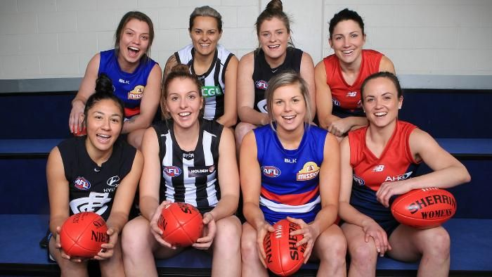 Women to be paid a minimum of $5000 in inaugural AFL season
