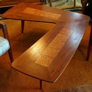 Lane boomerang table.