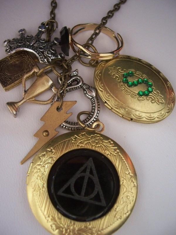 Seven Horcruxes, One Gorgeous Harry Potter Necklace