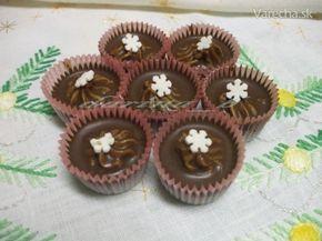 Ľadovo-gaštanové košíčky - Recept