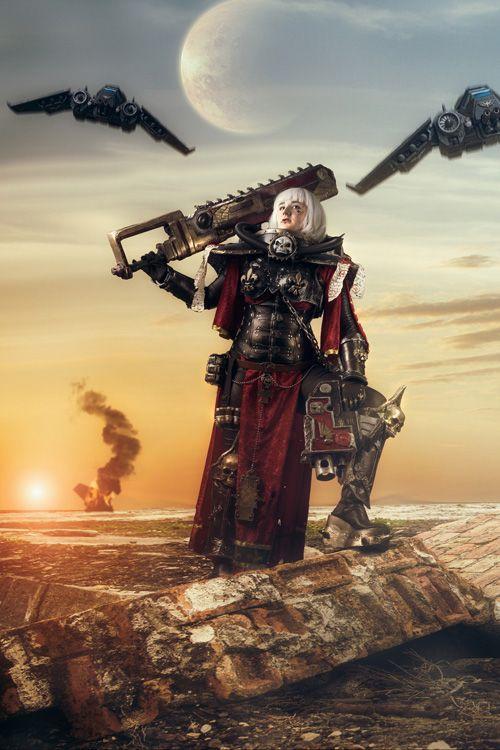 Adepta Sororitas from Warhammer 40K Cosplay http://geekxgirls.com/article.php?ID=5216