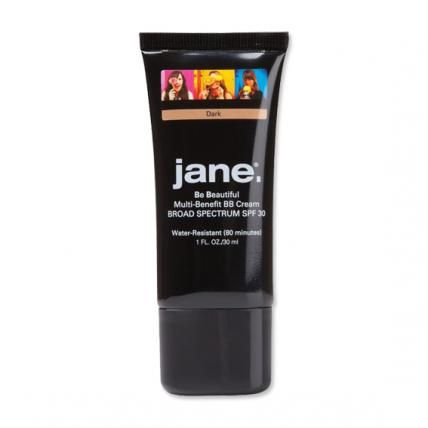 JANE COSMETICS MULTI-BENEFIT BB CREAM Layering primer, foundation, and powder can be a little too heavy in the warmer weather, which is why we reach for Jane's all-in-one BB cream ($16; janecosmetics.com) when we want our flawless finish to last. It combines the long-wearing ability of a primer, with the coverage of a sheer foundation, while mattifying shiny areas like powder. Genius!