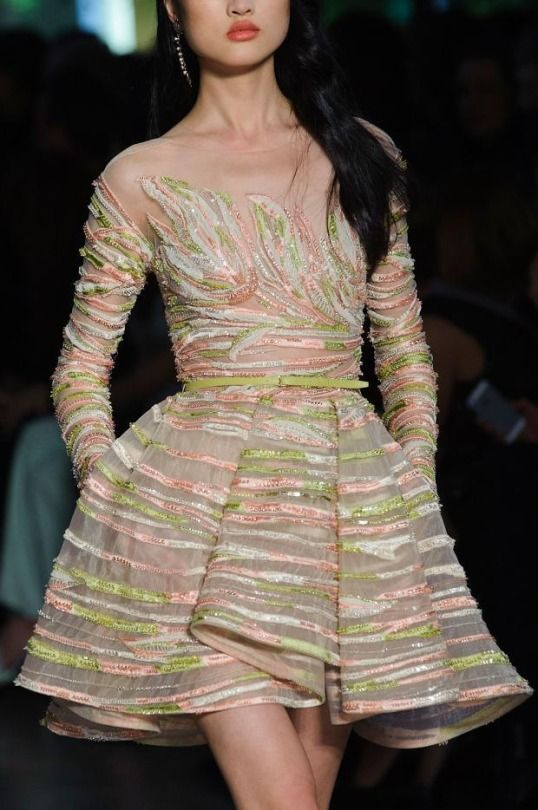 Ilivebytherulesoffashion: Elie Saab Spring 2015 Haute Couture