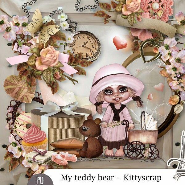 Le Blog de kittyscrap: ESSENTIEL : My Teddy Bear