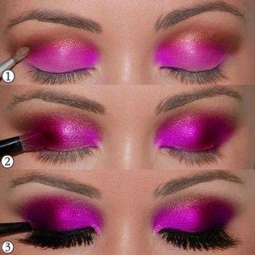 DIY Lady Gaga Eye Make-Up