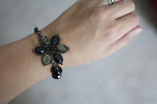 Crochet segment worn as a bracelet #Premier Designs