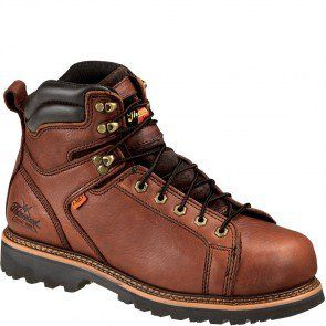 804-4614 Thorogood Men's I-MET Safety Boots - Tobacco www.bootbay.com