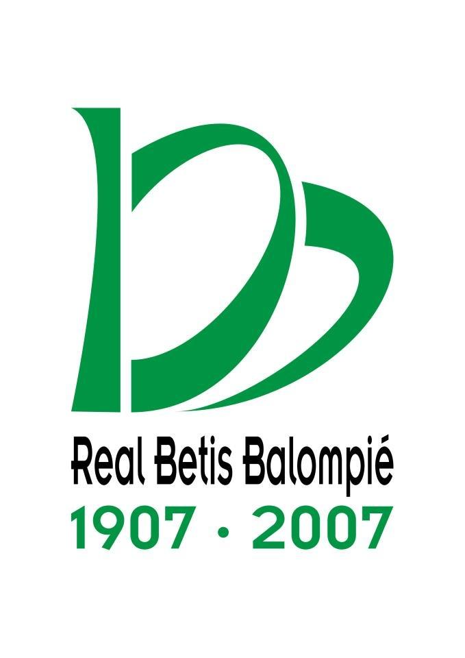 El logo del Centenario del Real Betis, todo un éxito. http://www.lacaseta.com/100-aniversario-real-betis-balompie/ #Betis #ideas #fútbol #creatividad #design #diseno