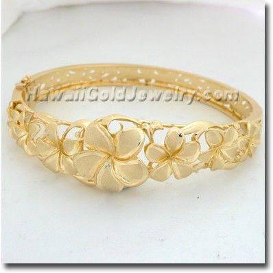 Hawaiian+Bangles | ... flower bangle 7 size 7 7 5 $ 3232 00 $ 2101 00 select bangle size