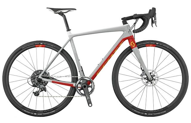 TOP 5 BICICLETAS DE CARRETERA: SCOTT ADDICT GRAVEL 10 DISC, versión 2017