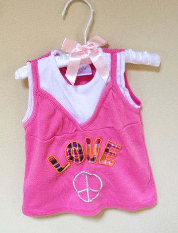 Peace & Love Tshirt 2T – Sprogshop