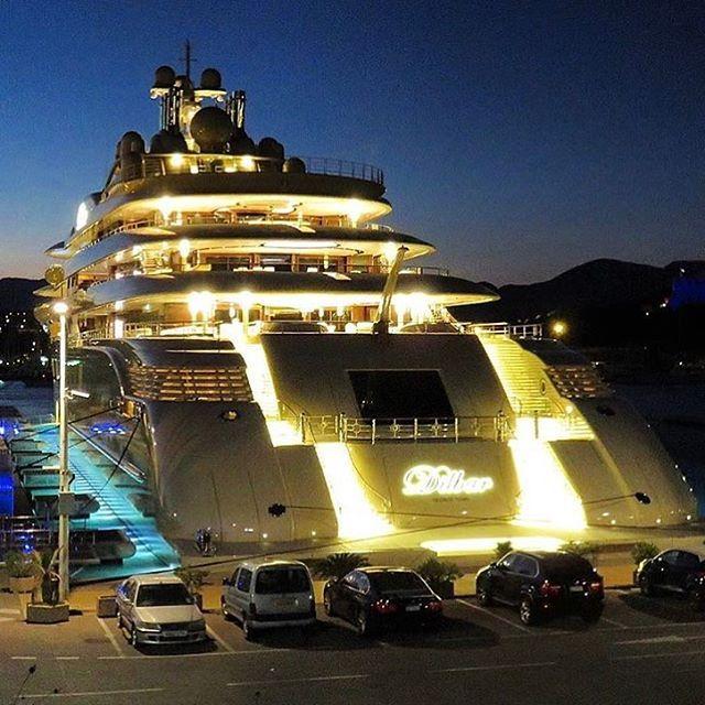 512ft Super Yacht U0027DILBARu0027 Priced At $600M   ( By @carolfeith) Via LUXURY  LIFESTYLE MAGAZINE OFFICIAL INSTAGRAM   Luxury Lifestyle Culture Trau2026 |  Pinterest