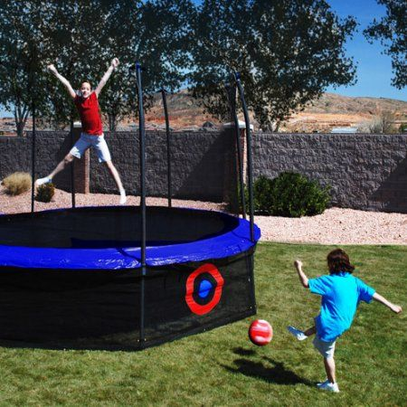 Azooga SureShot Trampoline Game with Lower Enclosure Net