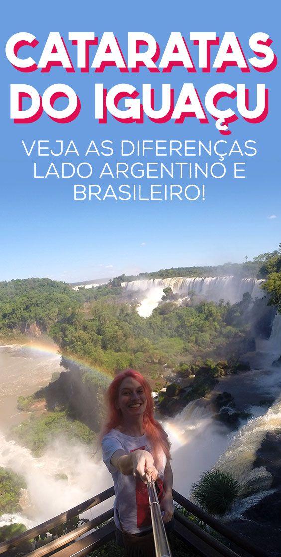 Cataratas do Iguaçu, diferenças entre parques do Brasil e Argentina