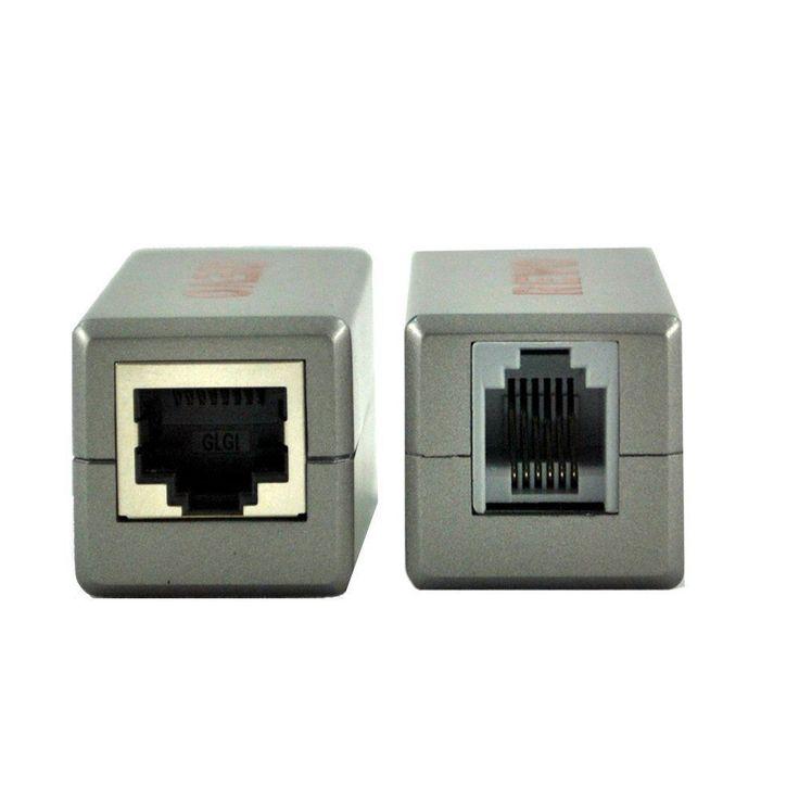 Revo RRJ12RJ45BLN RJ12 To RJ45 Adapter (Grey) Surveillance Camera Accessories #RevoAmerica