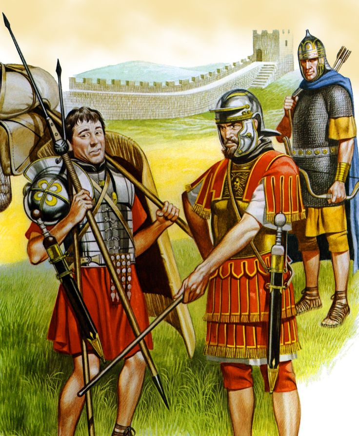 the roman army of hadrian at the hadrian wall roman on hadrians wall id=99456
