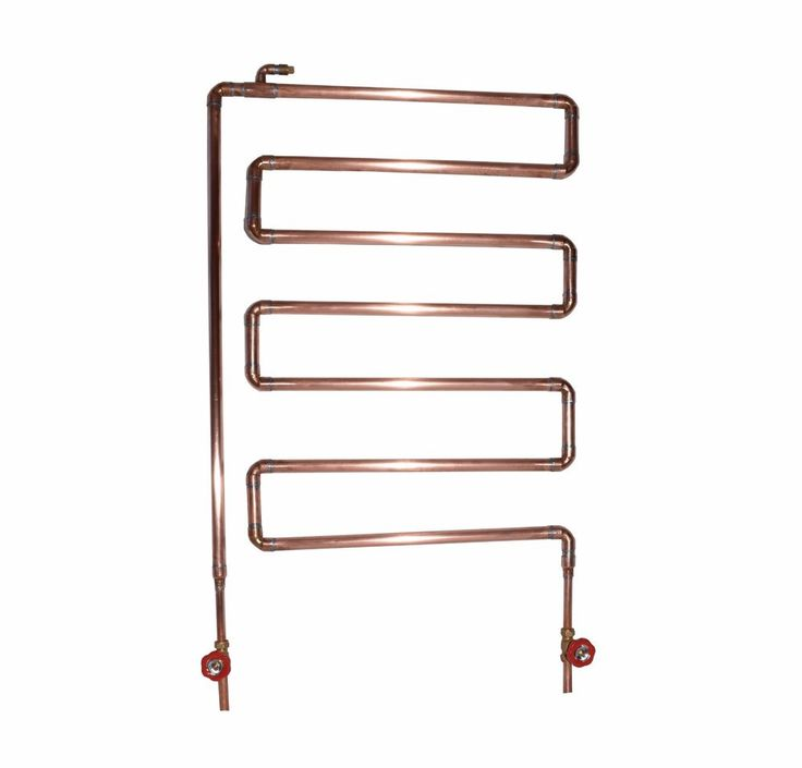 Handmade Copper Radiator / Towel Radiator - Industrial - Antique - Vintage