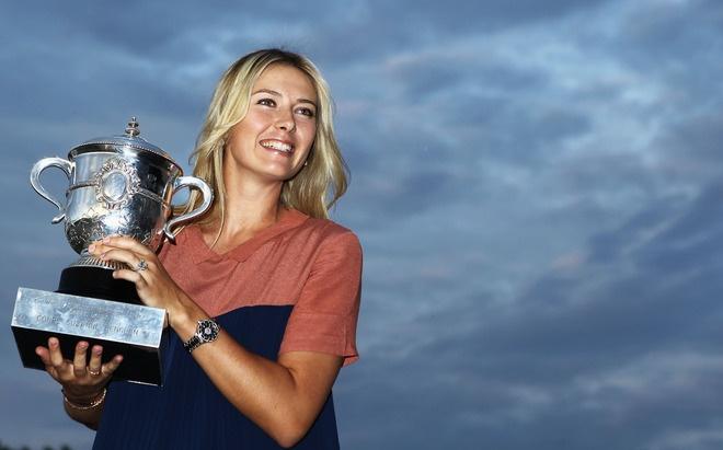 French Open Women's Champion Maria Sharapova Of Russia