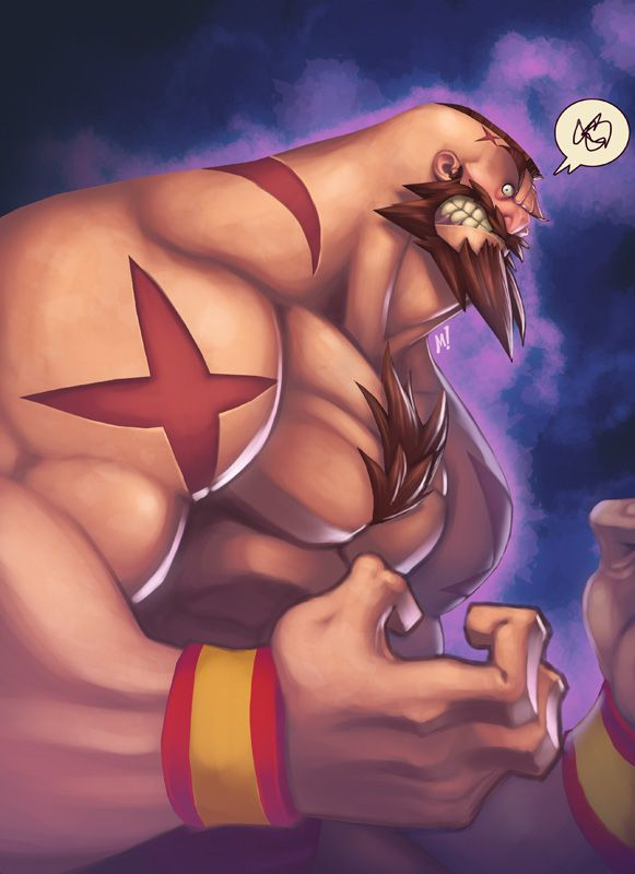 ufunk Mike Henry illustration-26 zangief street fighter