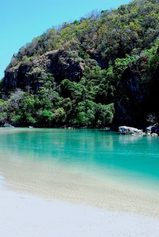 Sumba Island: The estuary of Kondamaloba: There is no accommodations in this area and you have to head inland to Lewa and its surrounding areas to stay the night. (Photo by Electra Gillies)