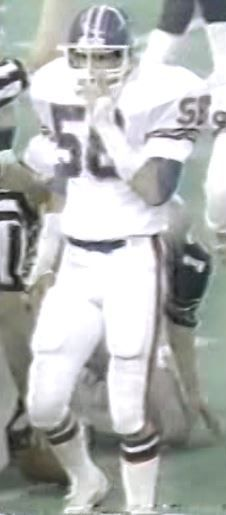 Linebacker STEVE BUSICK (58)--December 24, 1983 (AFC Wild Card)