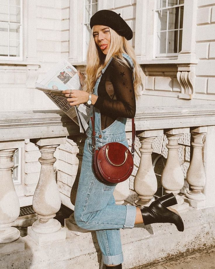 Cheap Monday Ally Blue Chore Dungarees | Urban Outfitters | Women's | Bottoms | Jeans via @isabellath #UOEurope #UrbanOutfittersEU #UOonYou