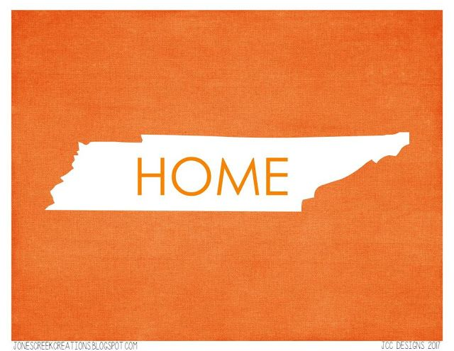 Find this free printable at:  https://jonescreekcreations.blogspot.com/2017/09/sweet-tennessee-home-tennessee-is-where.html
