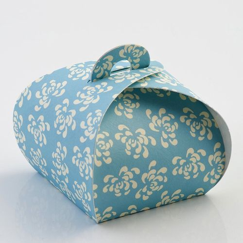 Blue Vintage Tortina Favour Box | Party Parade