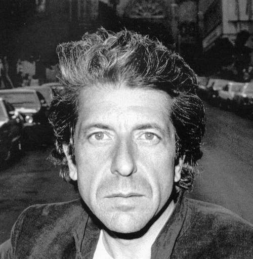 Leonard Cohen so sexy makes me glad I wore brown n evergreen even tho I was green-teal.I was no royal blue toliet bowl with a  SUV using exotic wood like the royal family of the U.K.