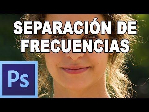 ▶ Separación de frecuencias: Retoque de piel manteniendo textura - Tutorial Photoshop en Español (HD) - YouTube