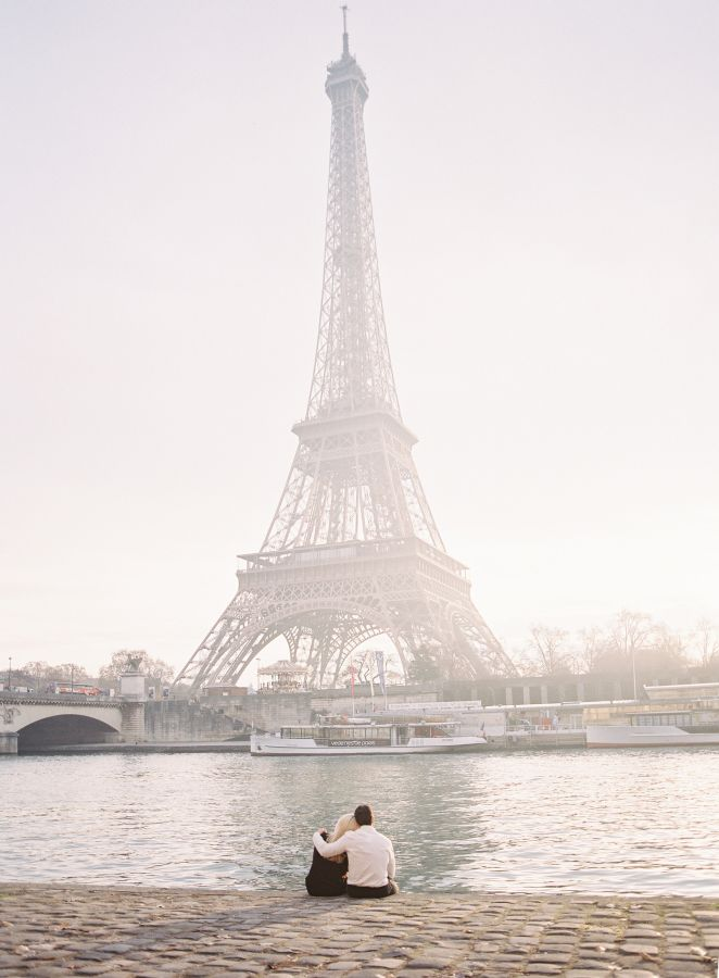 Sweetest Parisian anniversary shoot: http://www.stylemepretty.com/little-black-book-blog/2017/02/28/romantic-winter-anniversary-shoot-in-paris/ Photography: Oliver Fly - http://oliverfly.com/