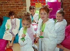 Spa For Girls, Pedicure, Manicure, Makeup, Birthday Parties - Simply Sassy Kids Spa, NC