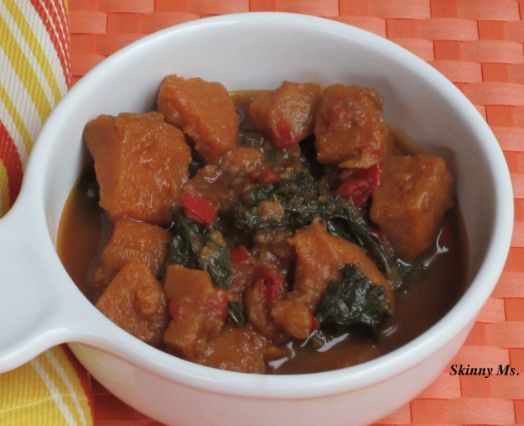 Slow Cooker Sweet Potato and Kale Stew