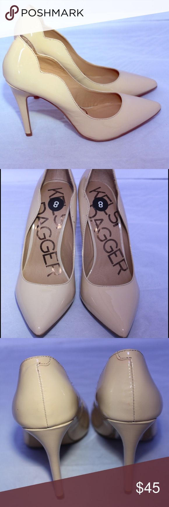 Kelsi Dagger Nude Patent Leather Pymps 8 NEW New Kelsi Dagger patent leather pumps. Kelsi Dagger Shoes Heels
