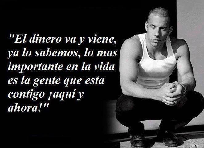 Pin De Jhoel En Frases Para Motivar Vin Diesel Frases Y Quotes