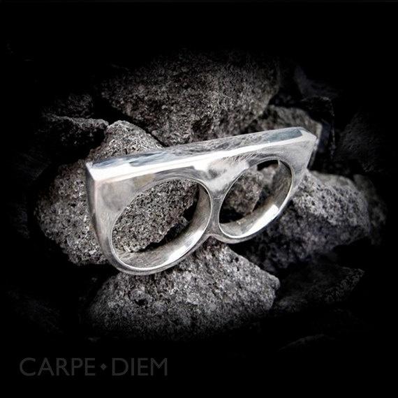Carpe Diem 925 Sterling Silver Ring Rings by carpediemjewellery