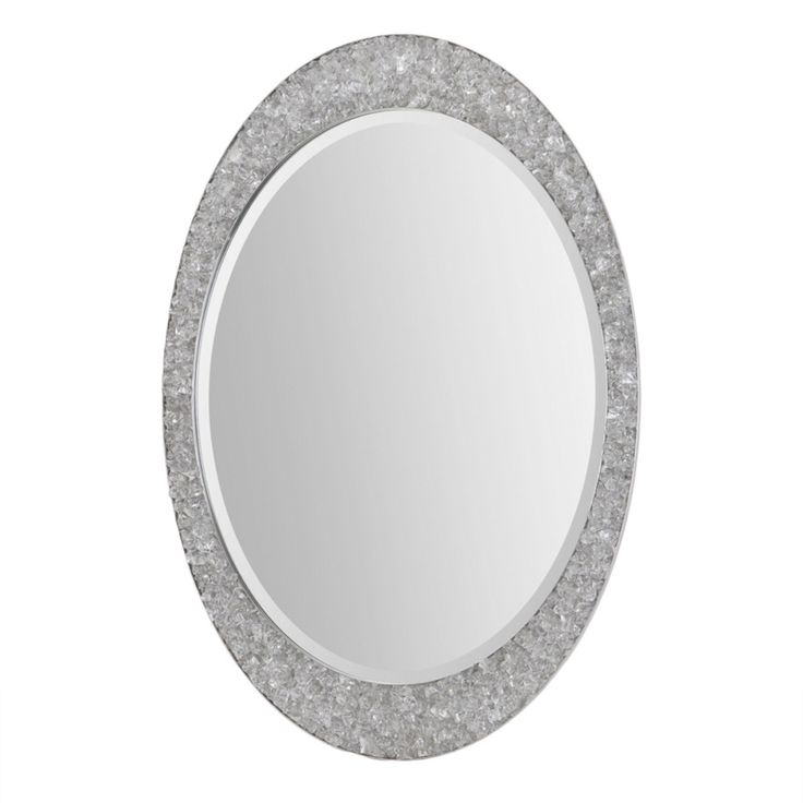renwil sirens brushed nickel mirror overstock shopping great deals on renwil mirrors
