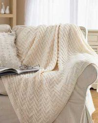 Simple knit blanket-free pattern