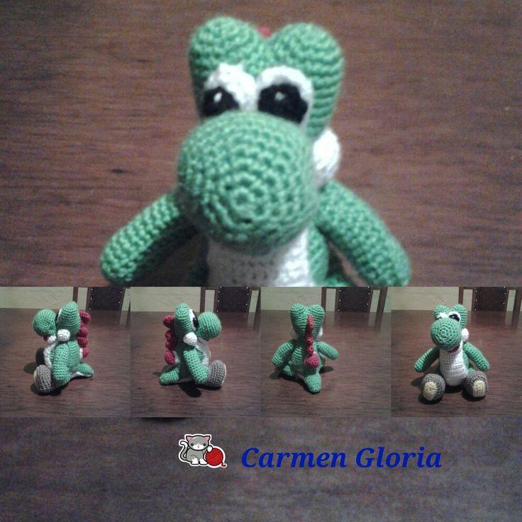 Yoshi a crochet