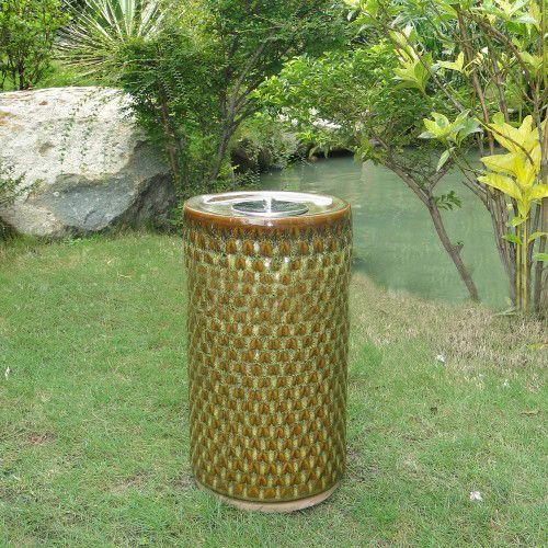 Smart Solar Apollo Ceramic Garden Torch