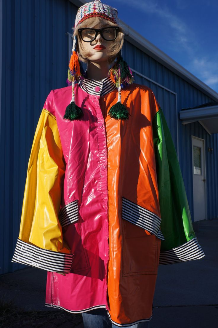 Neon Rain Jacket | Outdoor Jacket