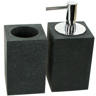 Gedy by Nameeks Oleandro 2-Piece Bathroom Accessory Set Color: