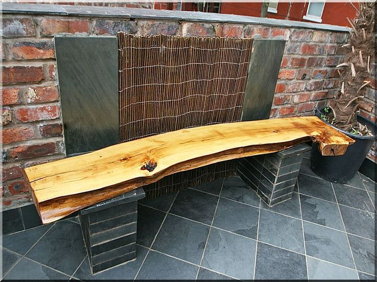 Rusztikus fa bútor
