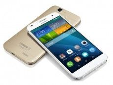 "HUAWEI ASCEND G7 WHITE (DGHUG7WH) 5,5"" IPS touchscreen 13 MP camera achteraan, 5 MP vooraan Android 4.4  MicroSD Quad-core 1.2 GHz processor"